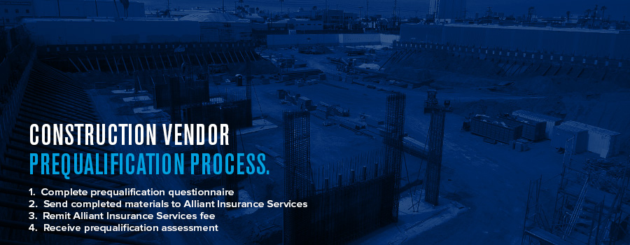 Construction Vendor Prequalification Process