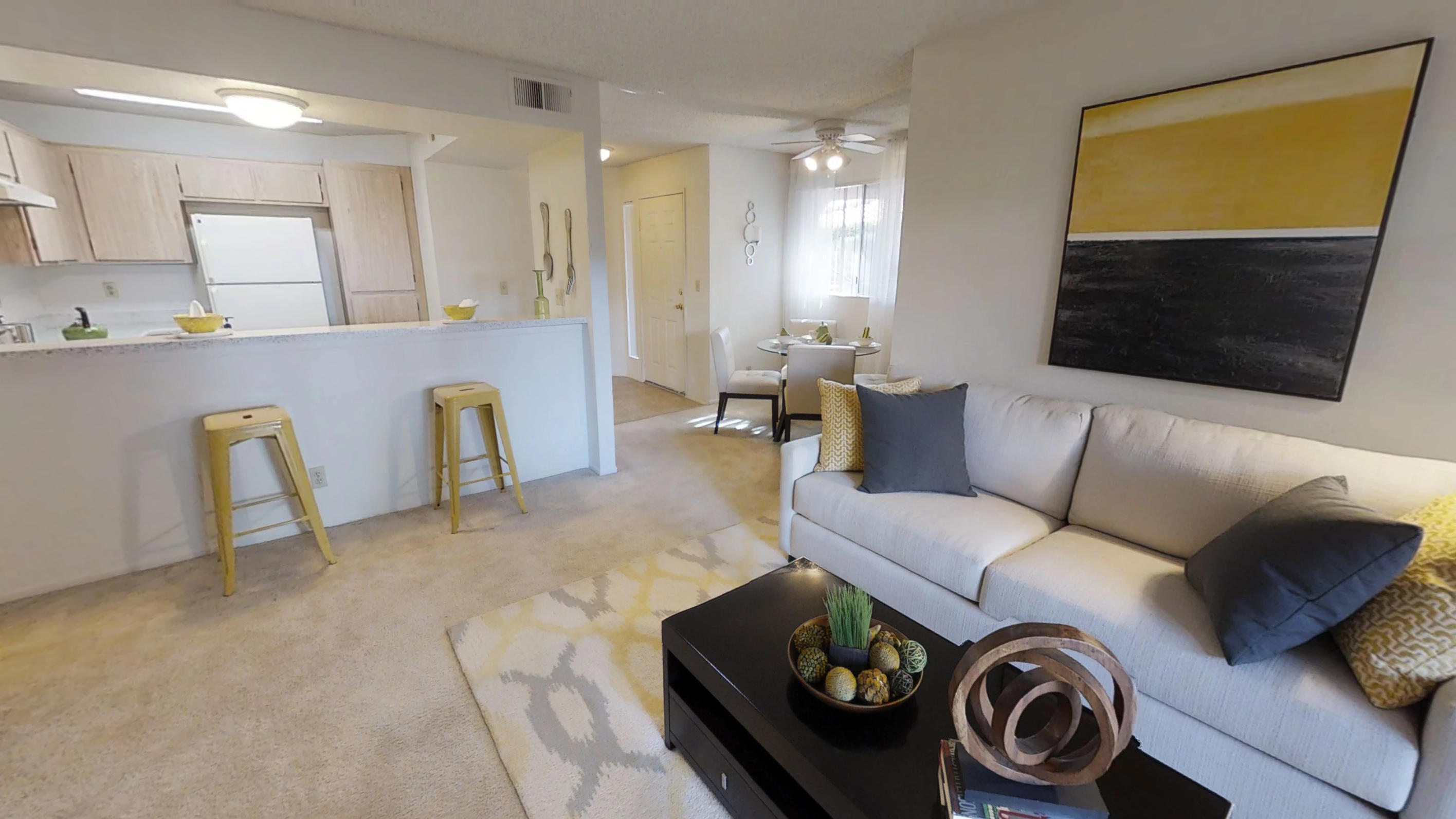 2 BD/2 BA Model 1008 sq ft